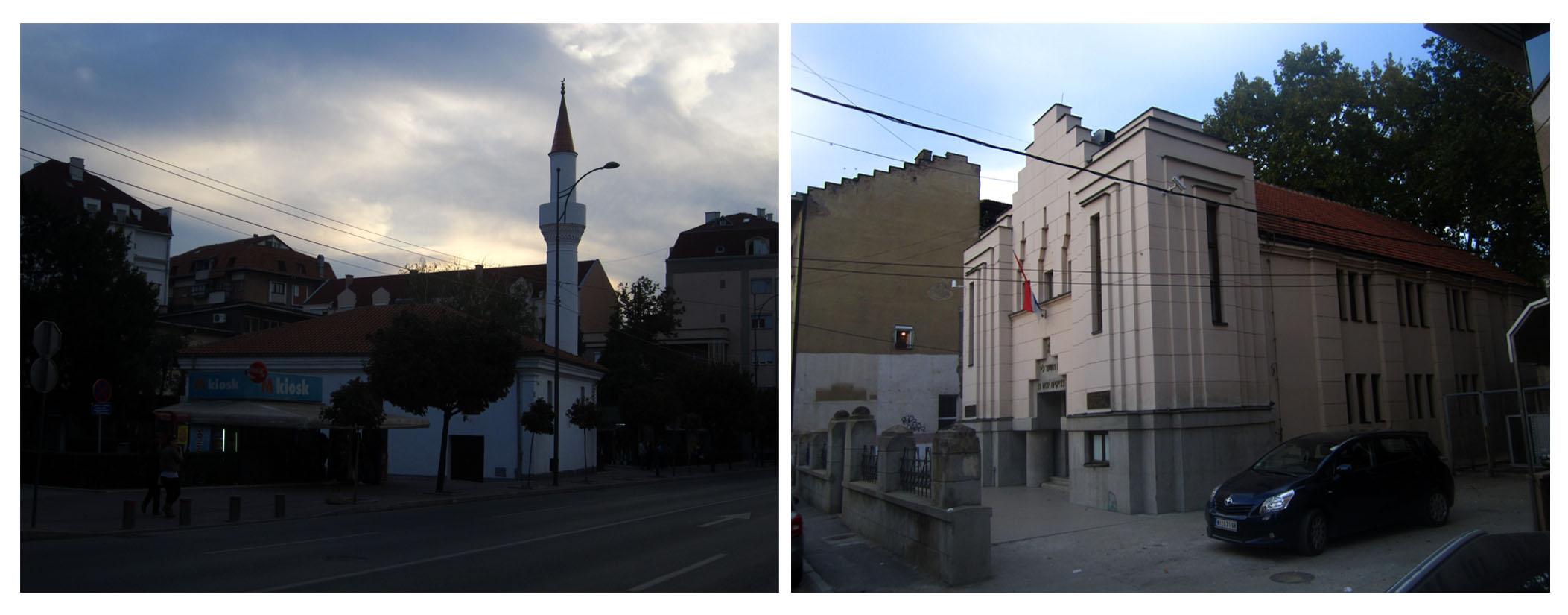 15 grad Nis dzamija i sinagoga