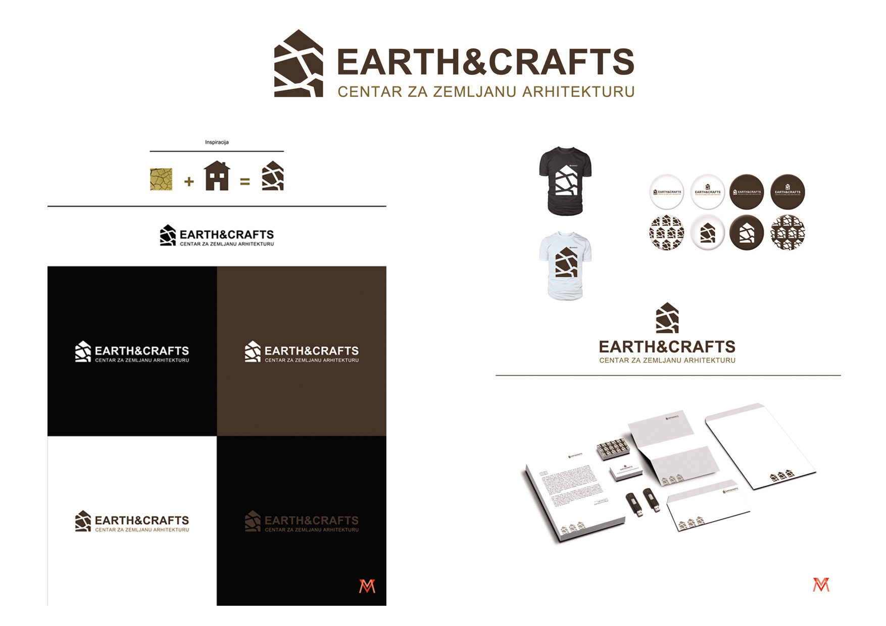 11 predlog logo EARTH&CRAFTS milica vezmar vezmarmca@yahoo.com