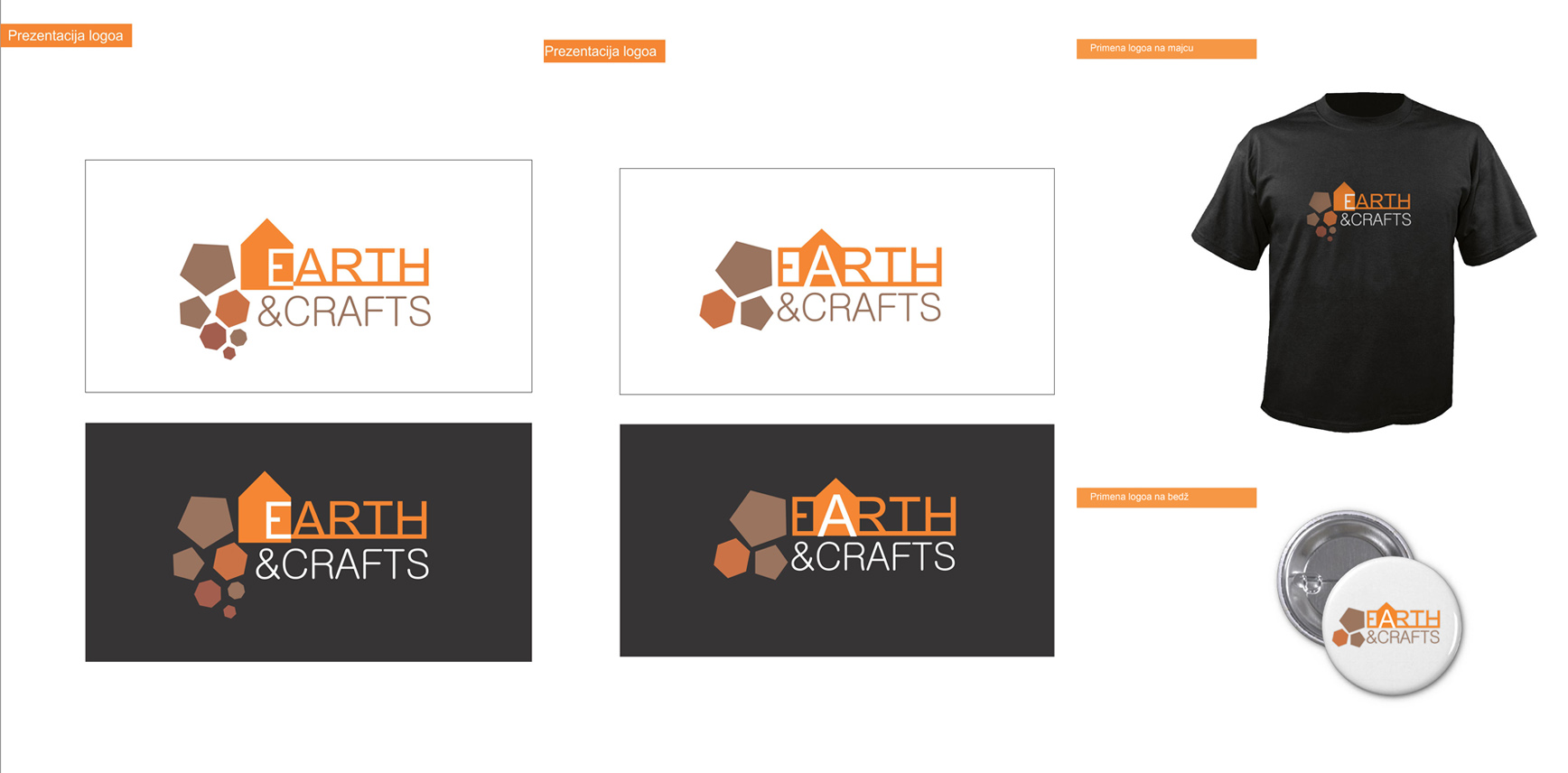 18 predlog logo EARTH&CRAFTS mia goranovic goranovic.mia@gmail.com