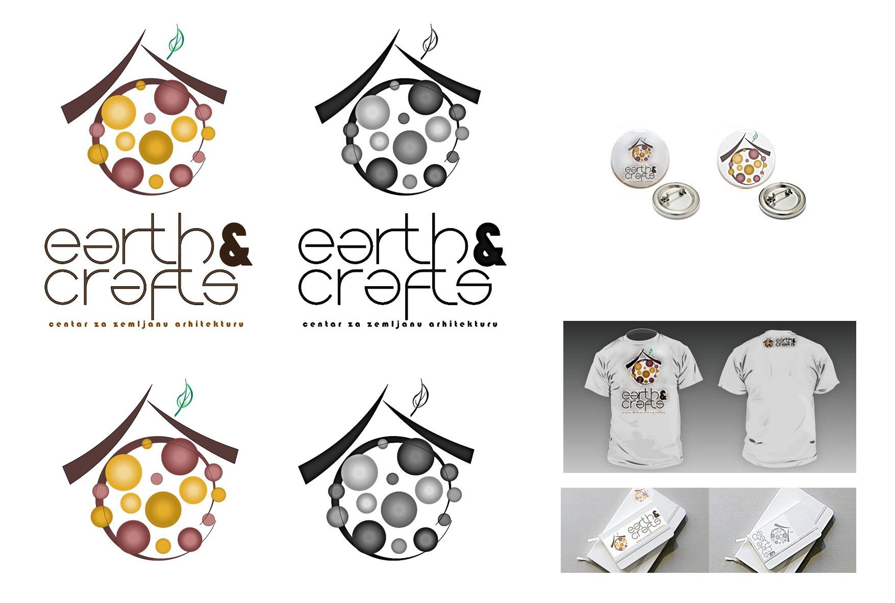 27 predlog logo EARTH&CRAFTS Hédi Zsáki hedizsaki@gmail.com