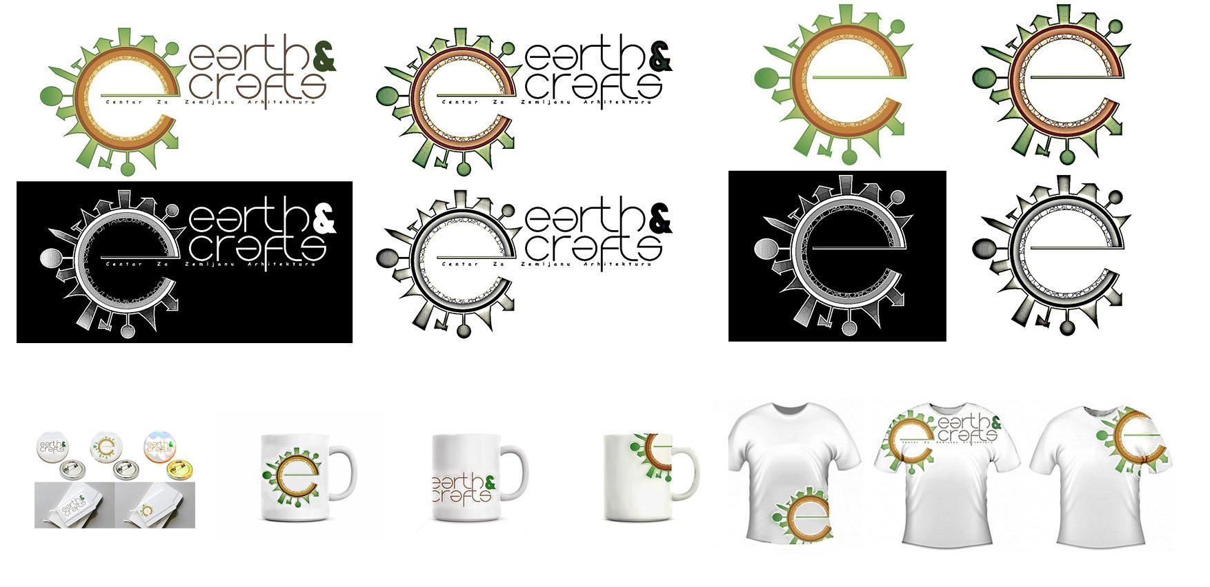 28 predlog logo EARTH&CRAFTS Hédi Zsáki hedizsaki@gmail.com