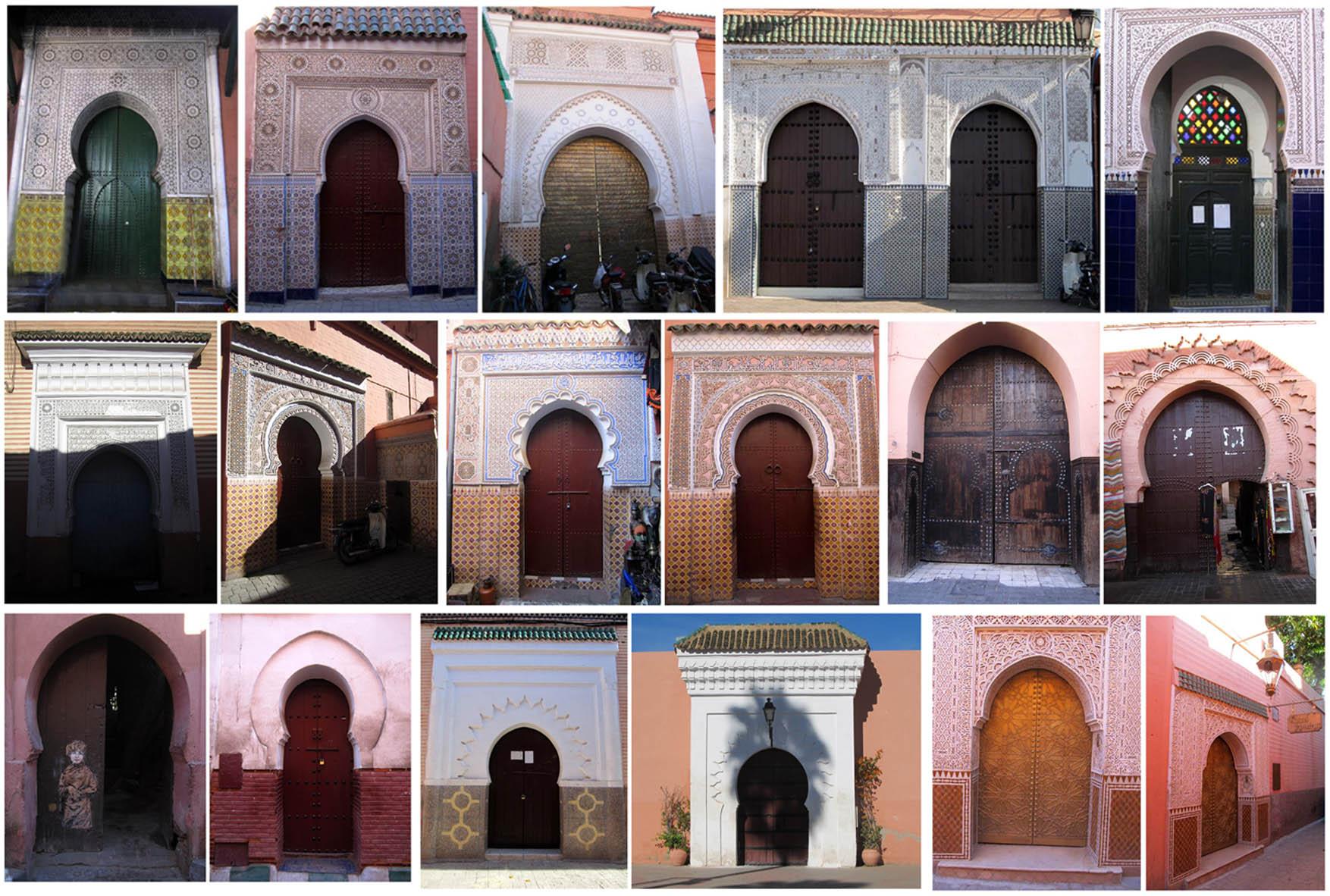 12 doors of Marrakesh