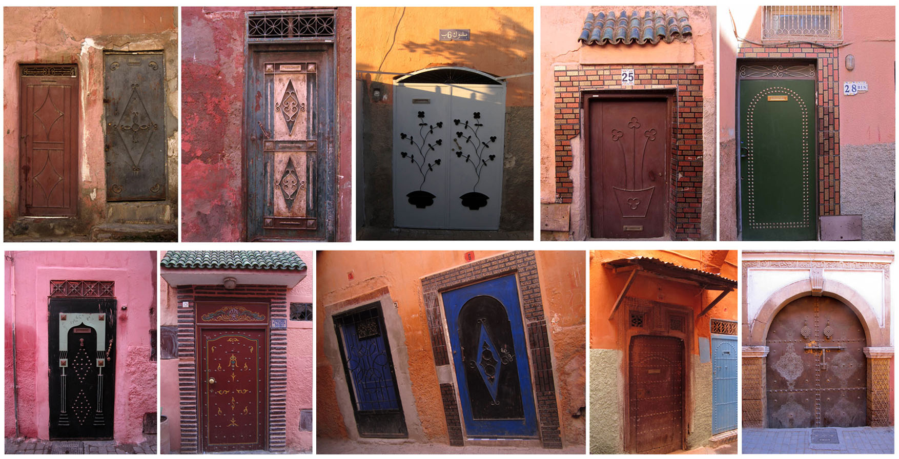 14 metal doors of Marrakesh 3