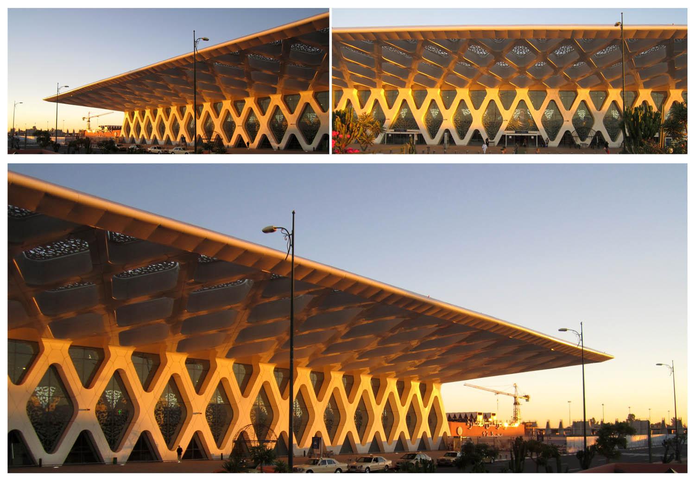 217 Marrakesh modern airport