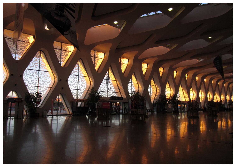 219 Marrakesh modern airport