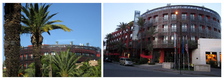 223 Marrakesh modern buildings