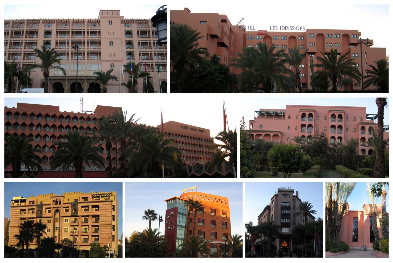 227 Marrakesh modern buildings