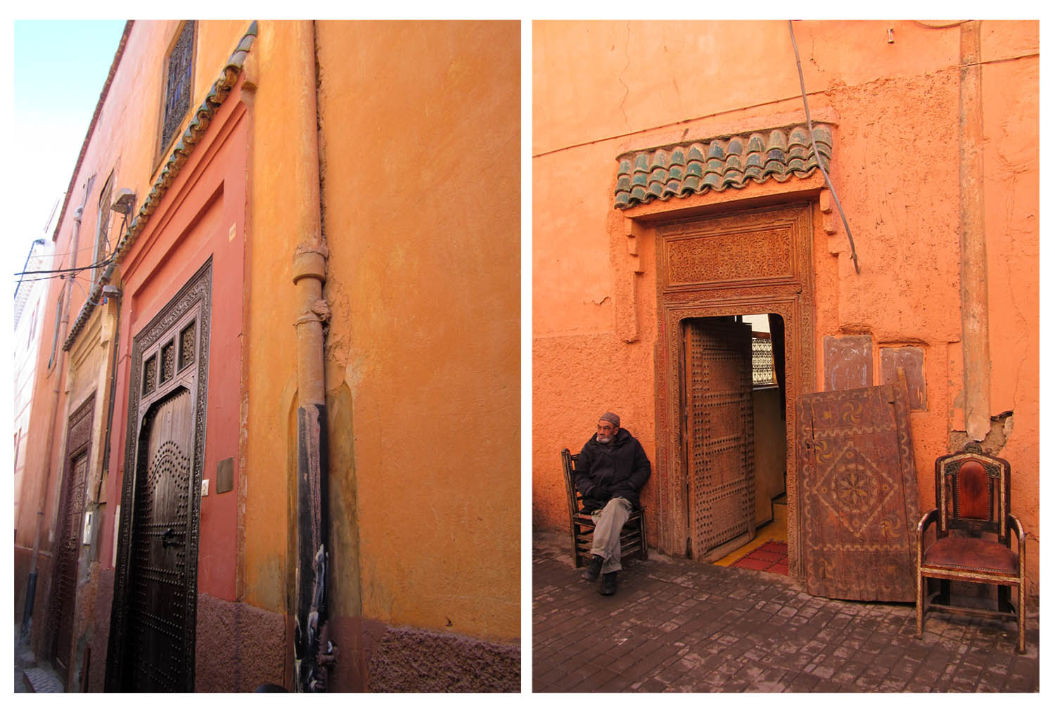 60 red streets of Marrakesh