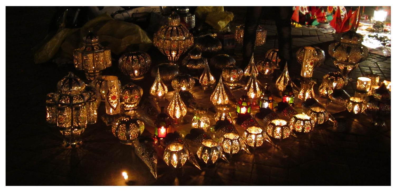 62 souks of Marrakesh by night