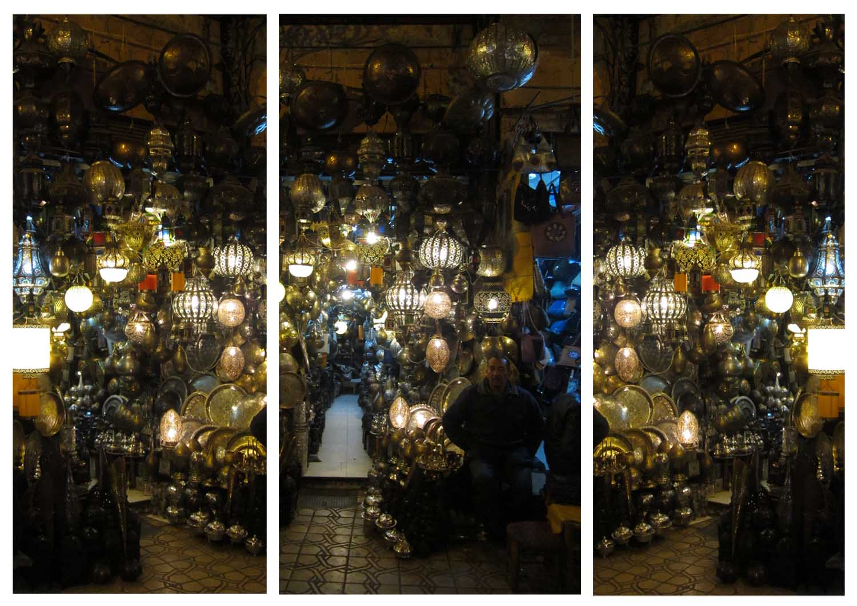 91 lamp souks of Marrakesh by night