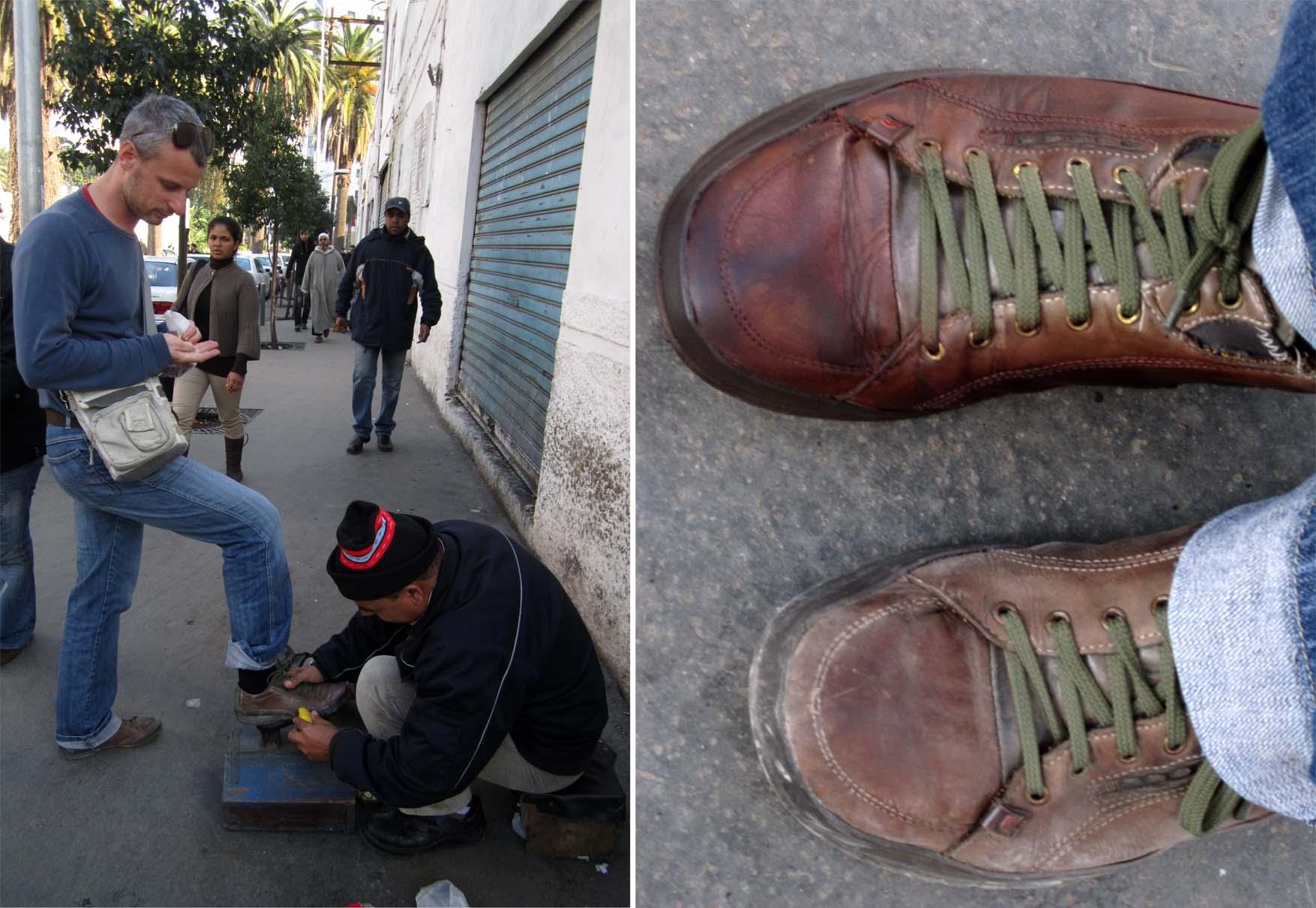 02 maroko kazablanka ciscenje cipela