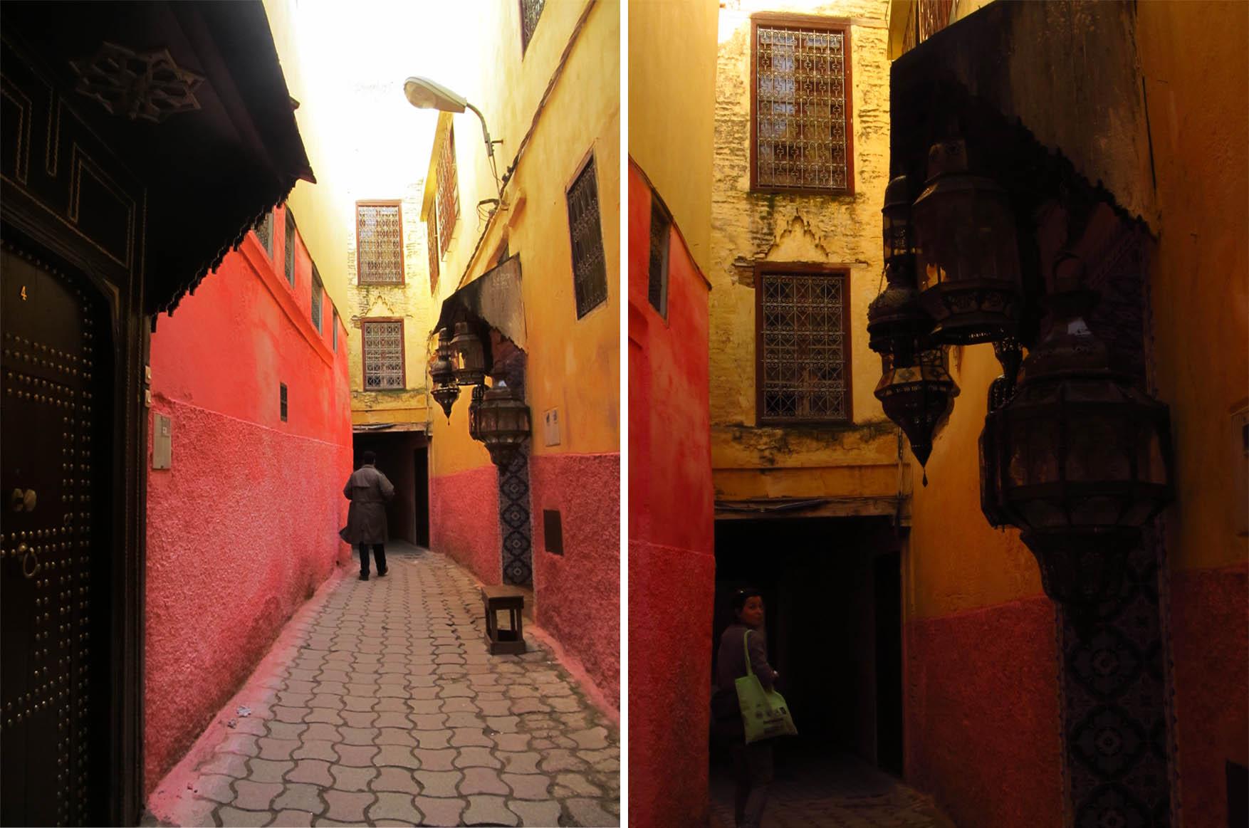116 meknes dan 2 medina ulice detalji