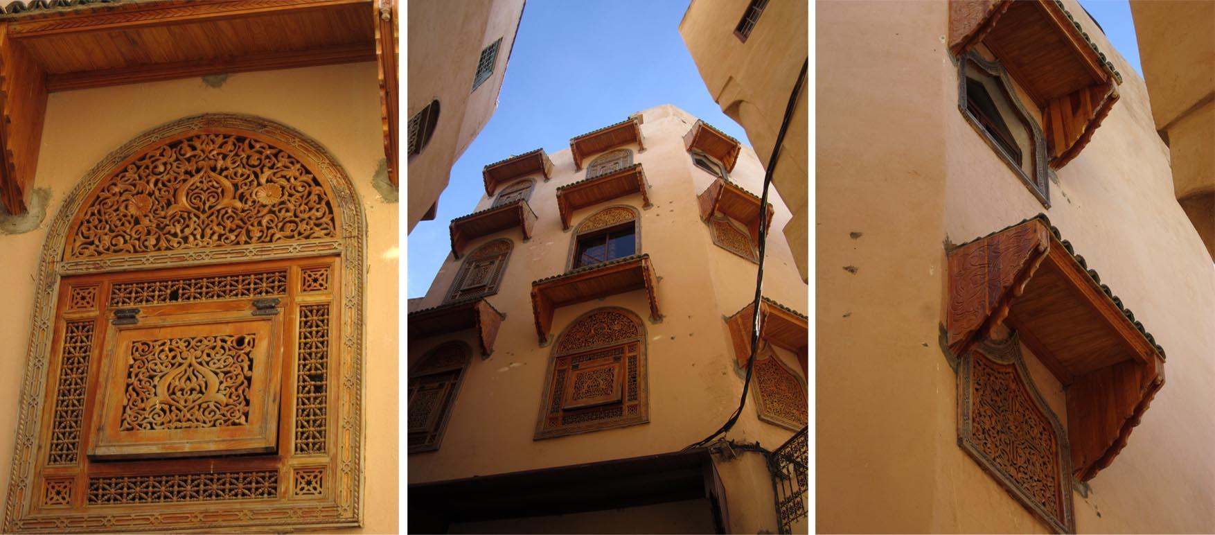119 meknes dan 2 medina ulice detalji prozori