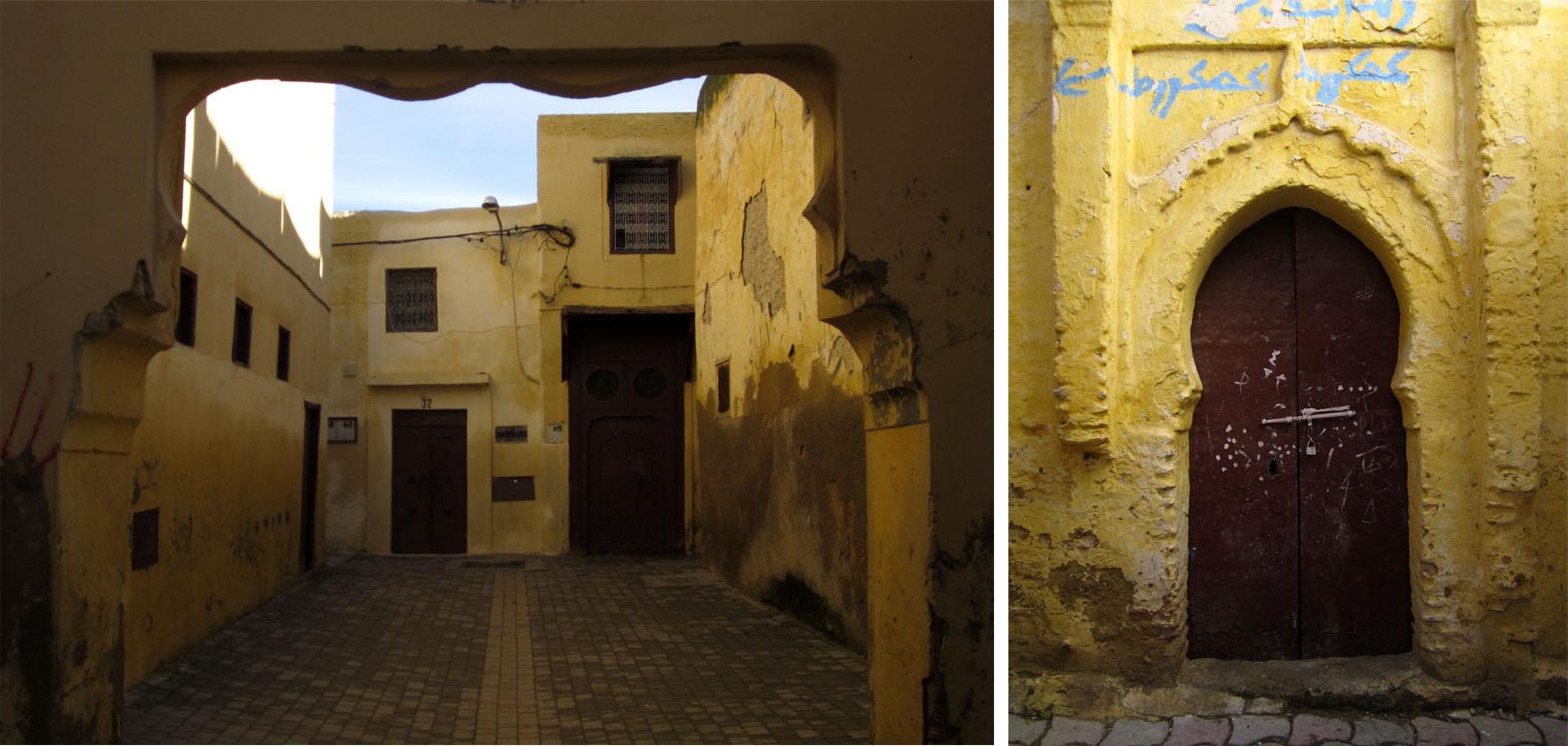 121 meknes dan 2 medina ulice detalji