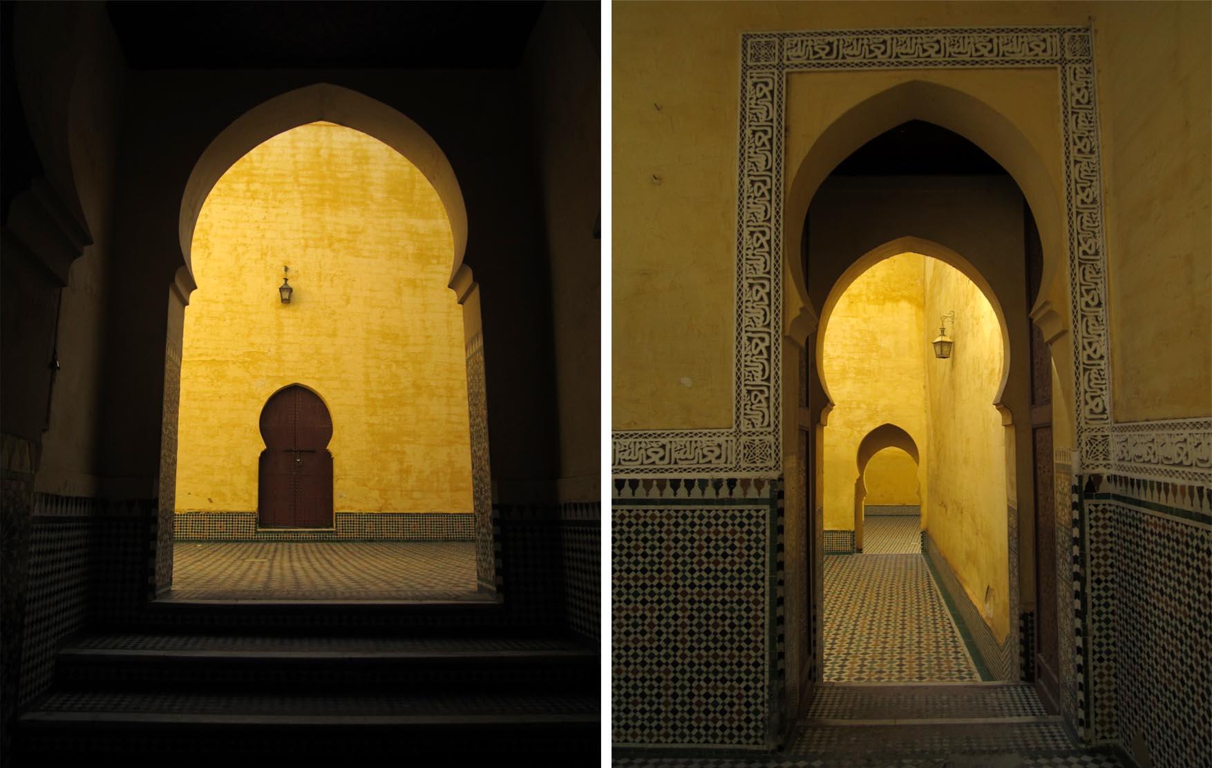 143 maroko meknes mauzolej mule ismaila