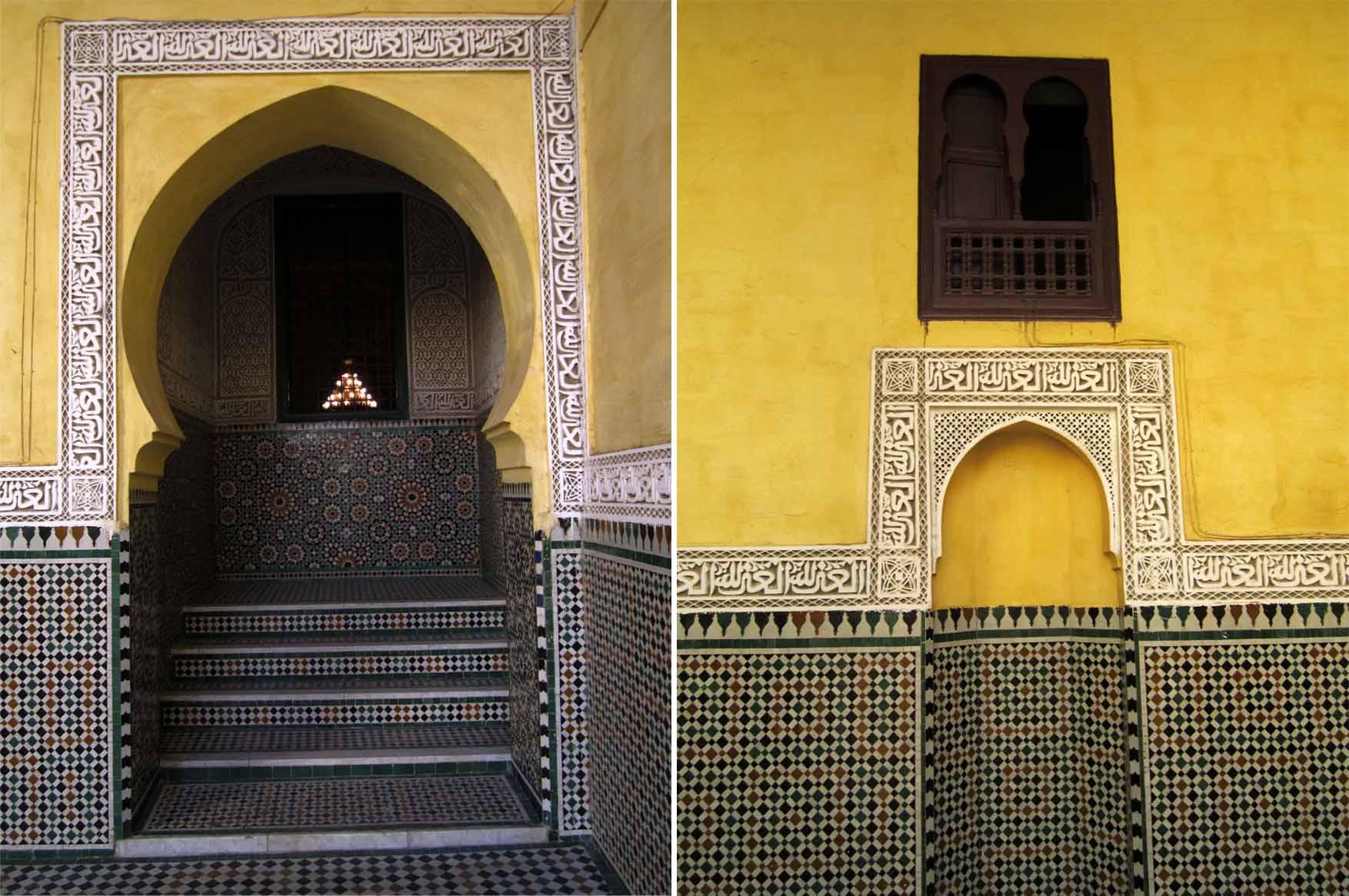 145 maroko meknes mauzolej mule ismaila
