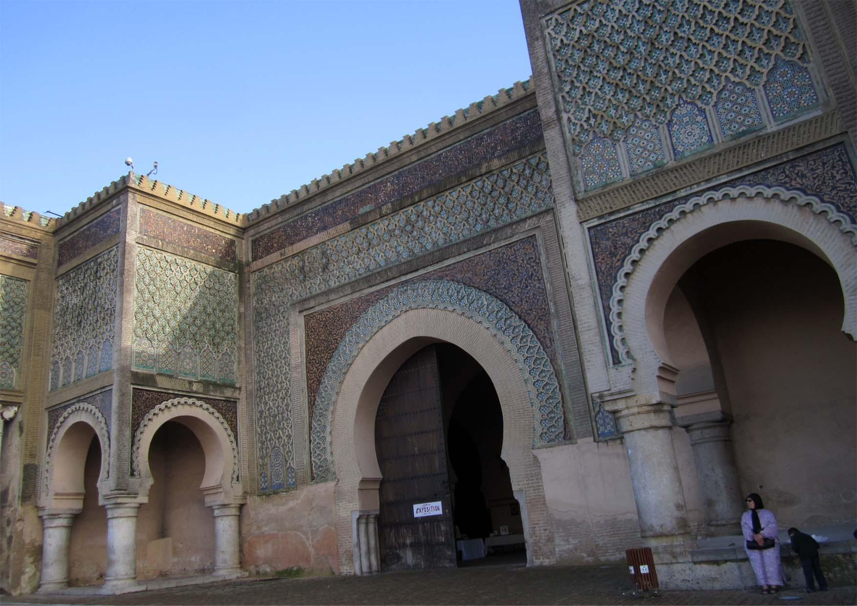 15 meknes bab el mansour kapija