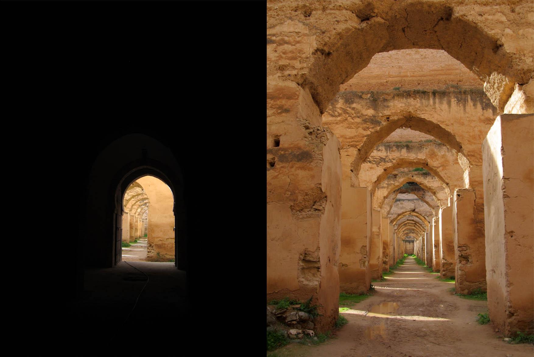 167 maroko meknes kraljevska konjusnica