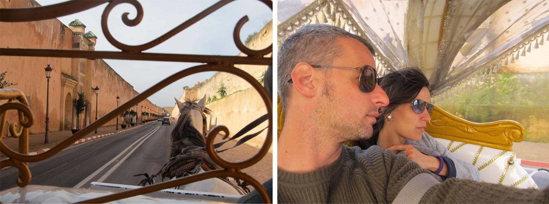 170 maroko meknes kraljevski povratak kocijama