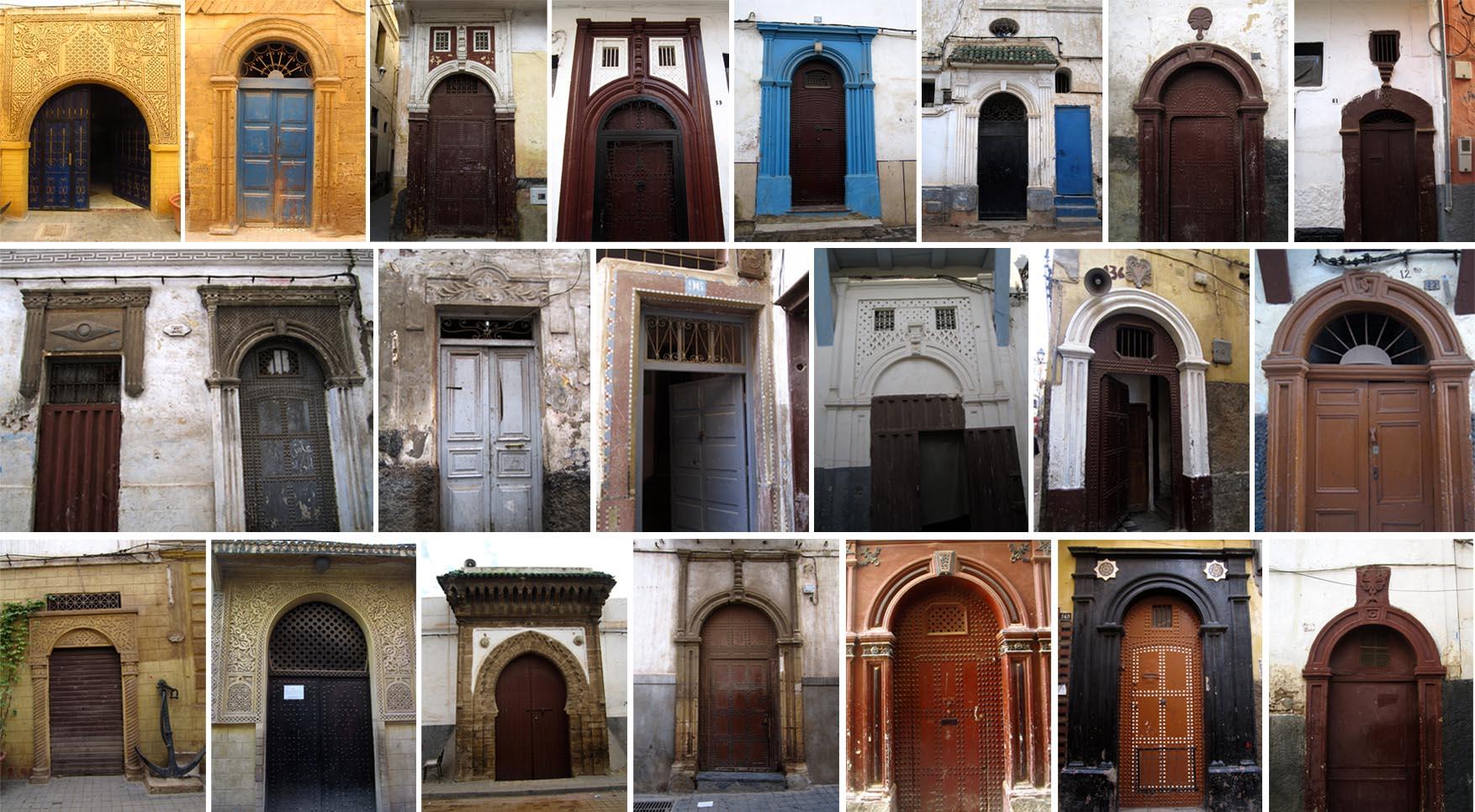 45 maroko kazablanka medina sva vrata