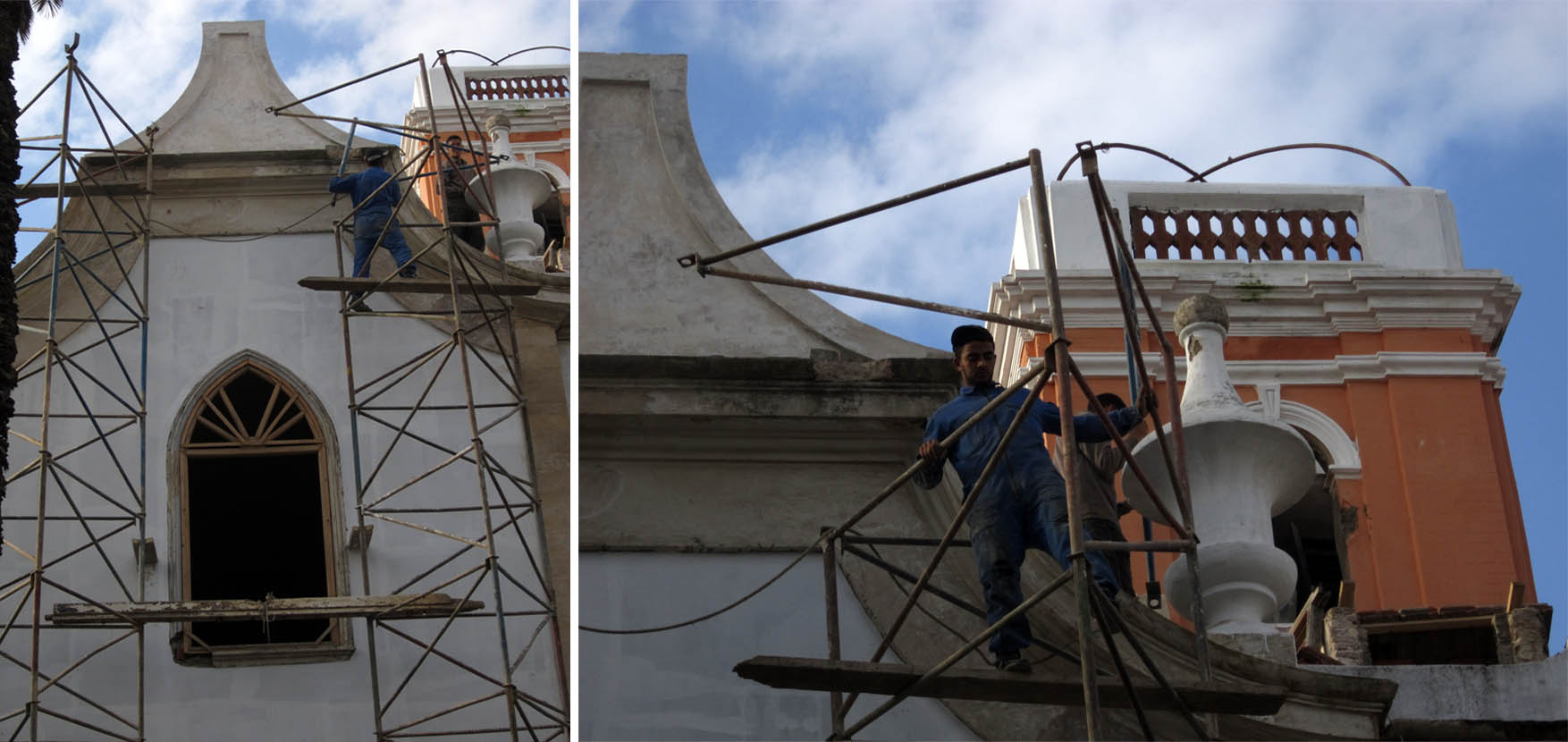 69 maroko kazablanka medina restauracija spanske crkve san buena ventura