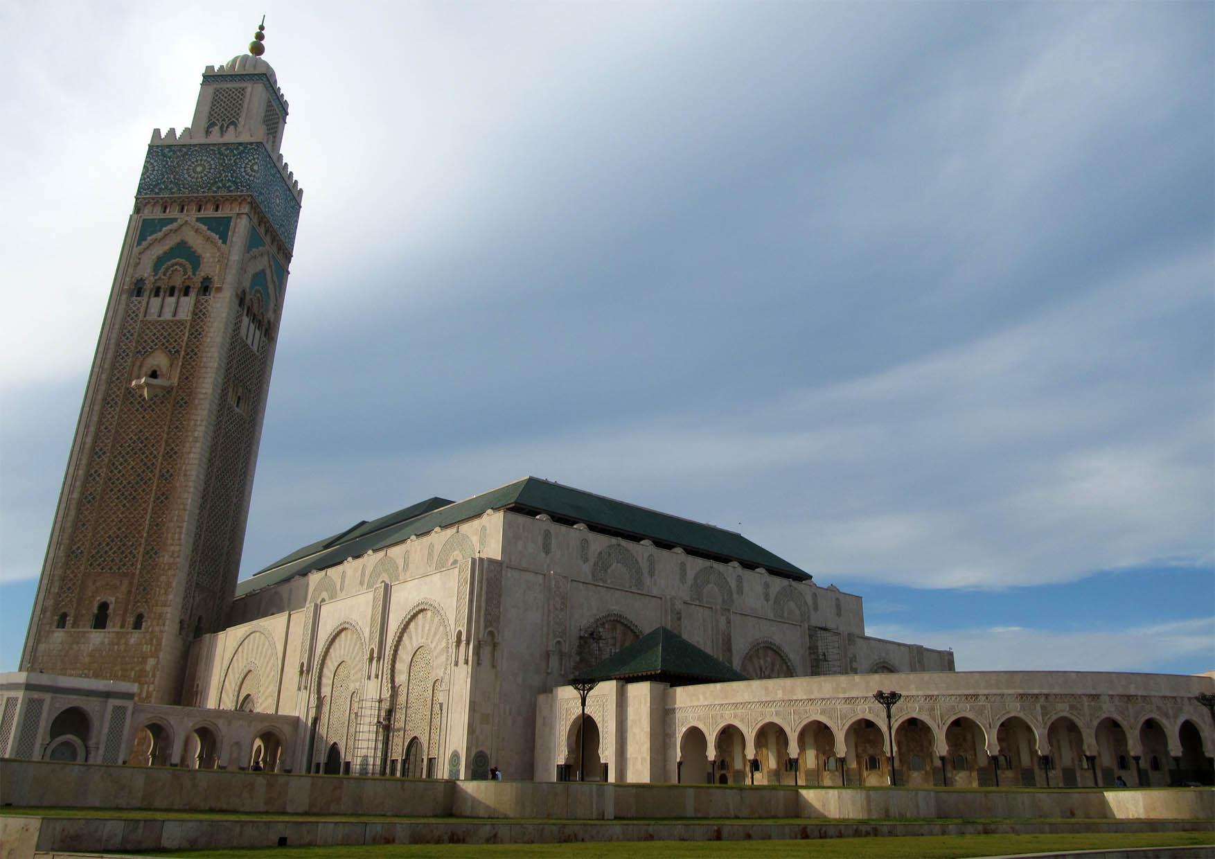 80 maroko kazablanka velika dzamija
