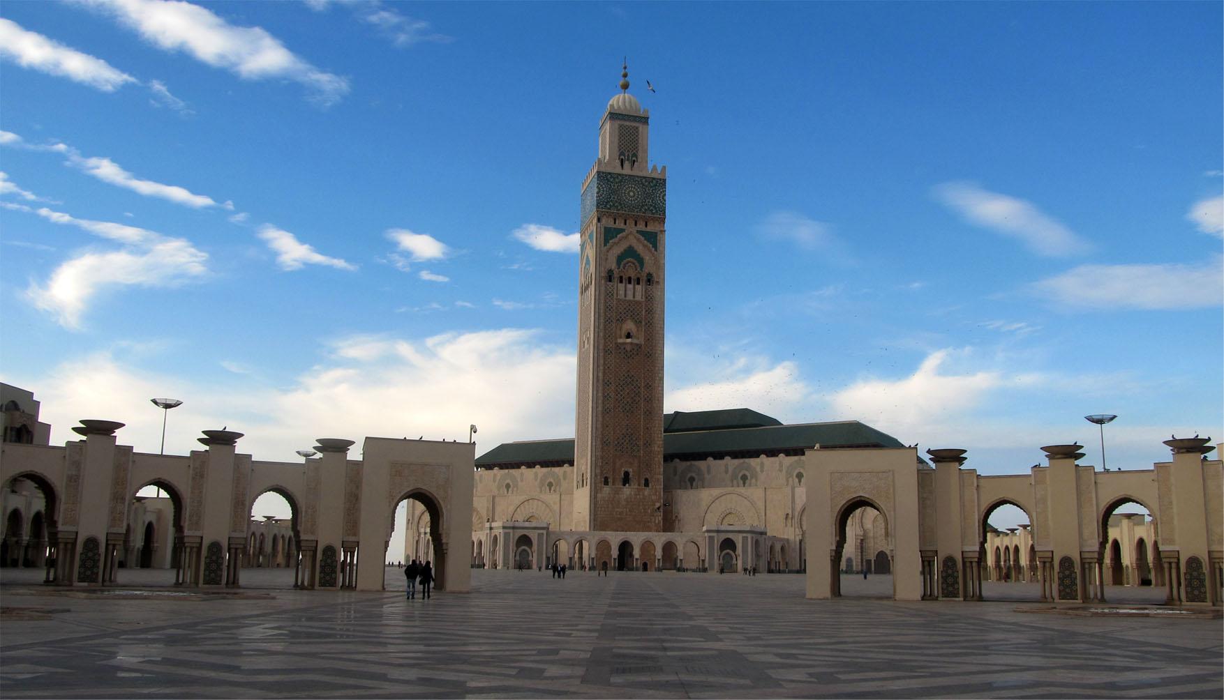 82 maroko kazablanka velika dzamija