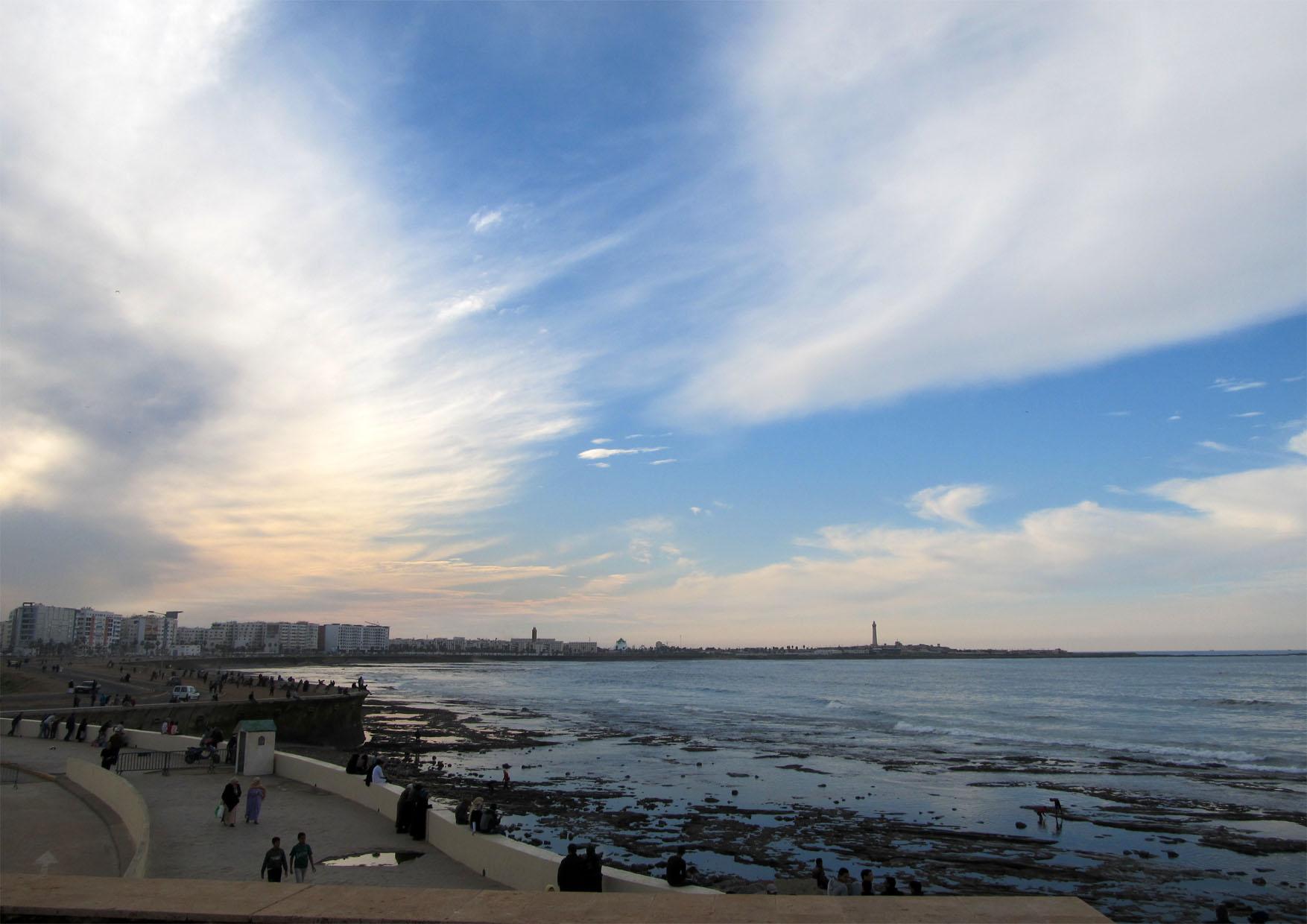 99c maroko kazablanka velika dzamija more