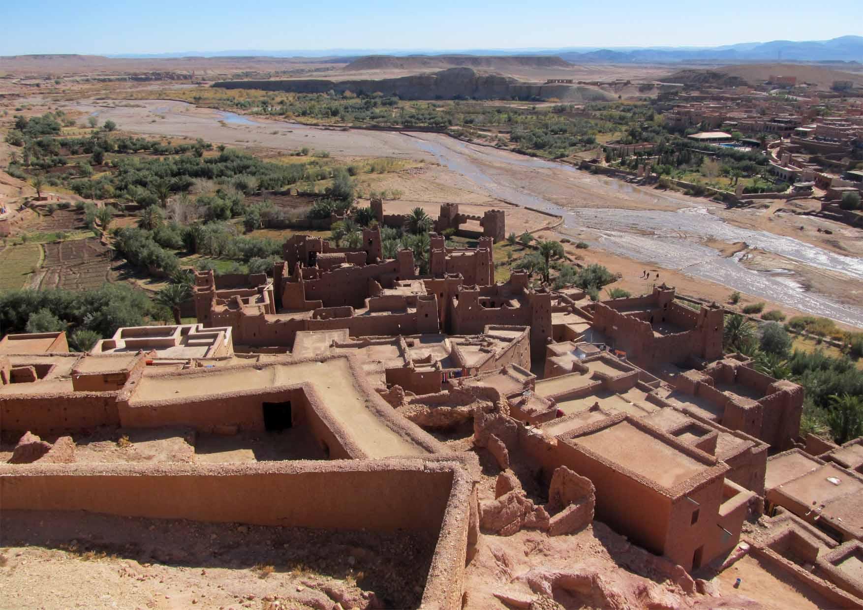 13 maroko ait ben haddou ravni krovovi i okolina