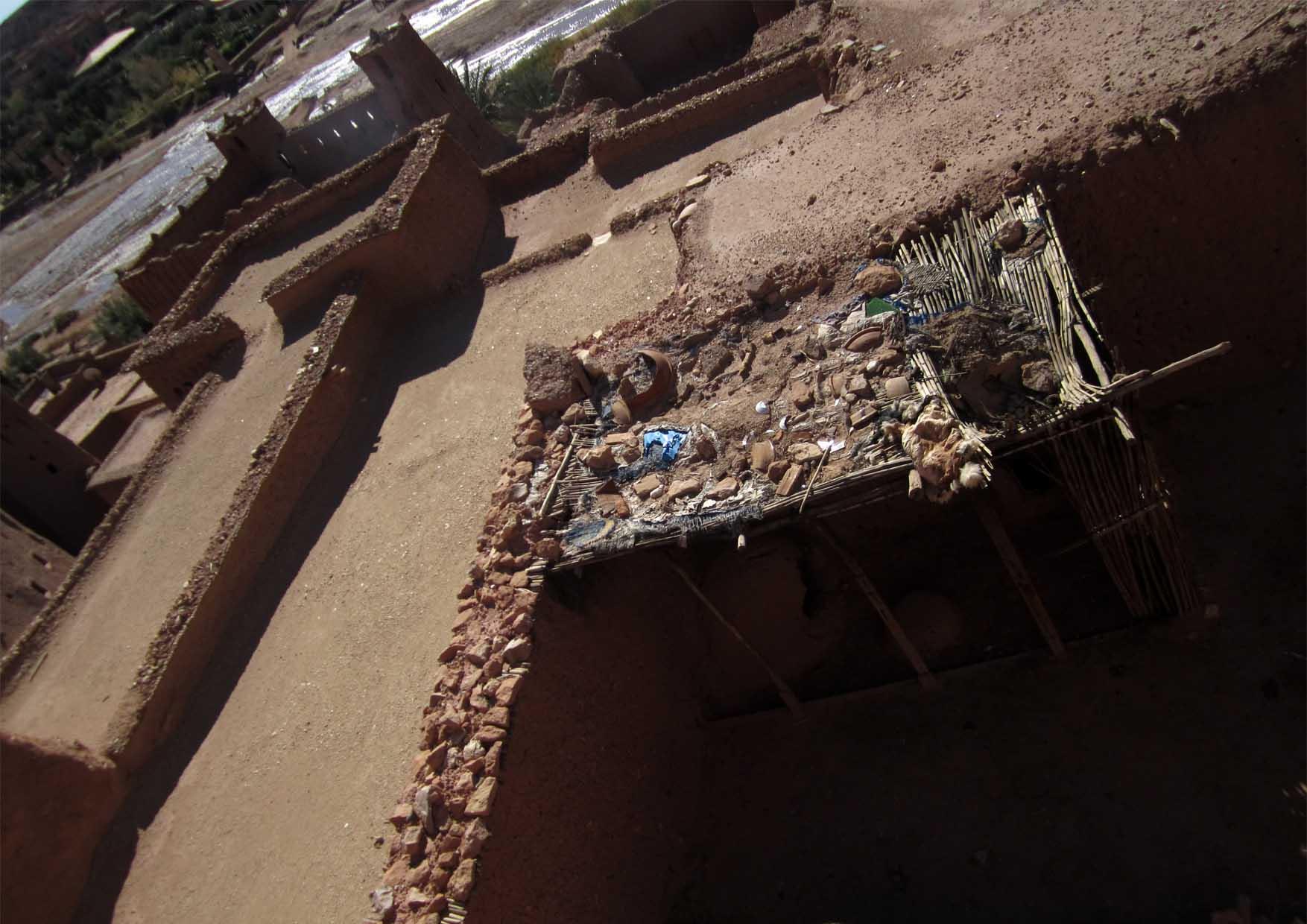 18 maroko ait ben haddou ravni krovovi i ovcice