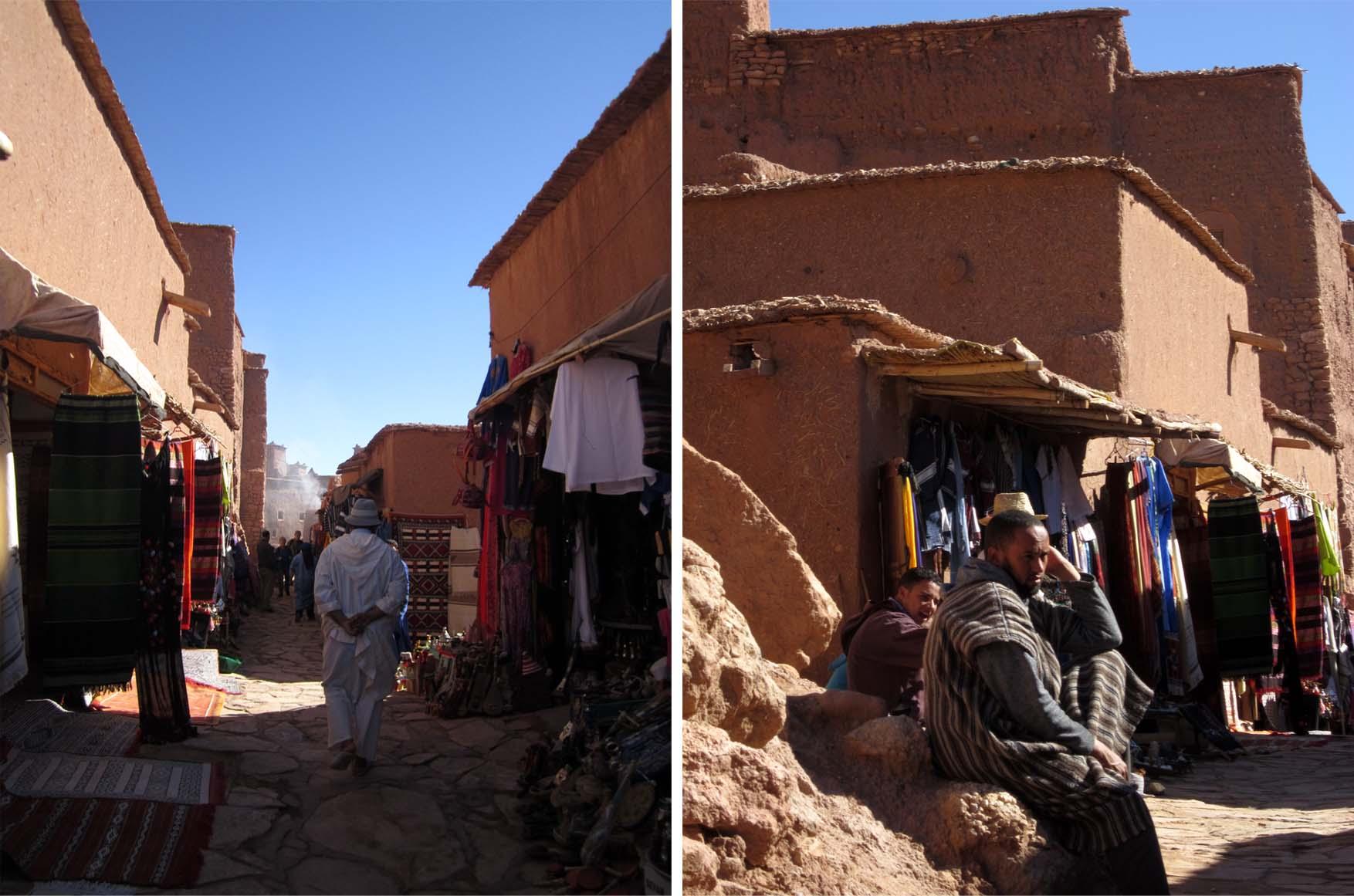 38 maroko ait ben haddou ulice