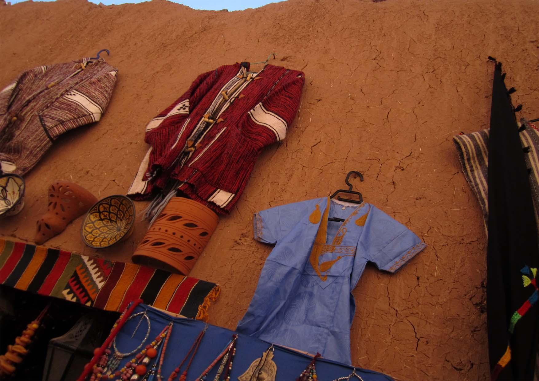 41 maroko ait ben haddou ulice i marame