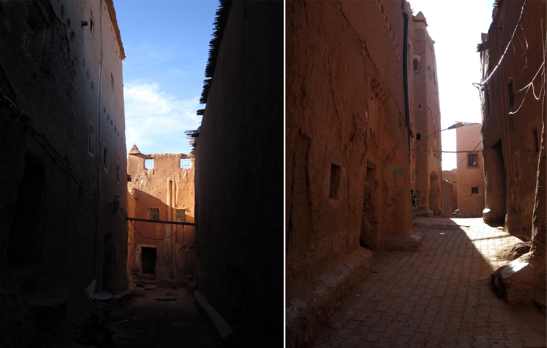 54 maroko ouarzazate kazba ulice