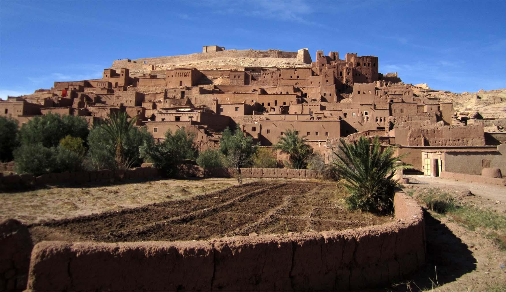 63 maroko ait ben haddou panorama