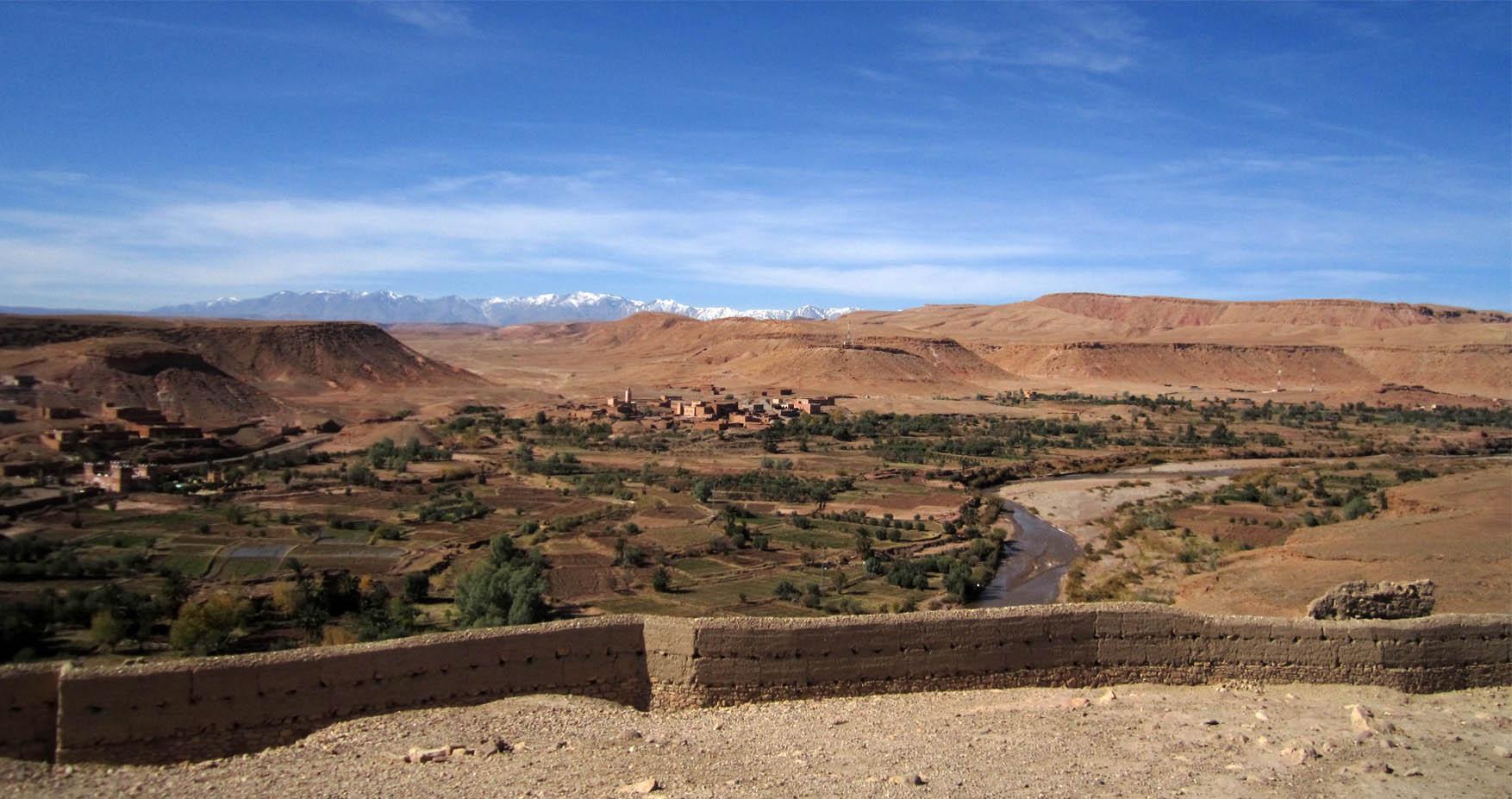 65 maroko ait ben haddou panorama