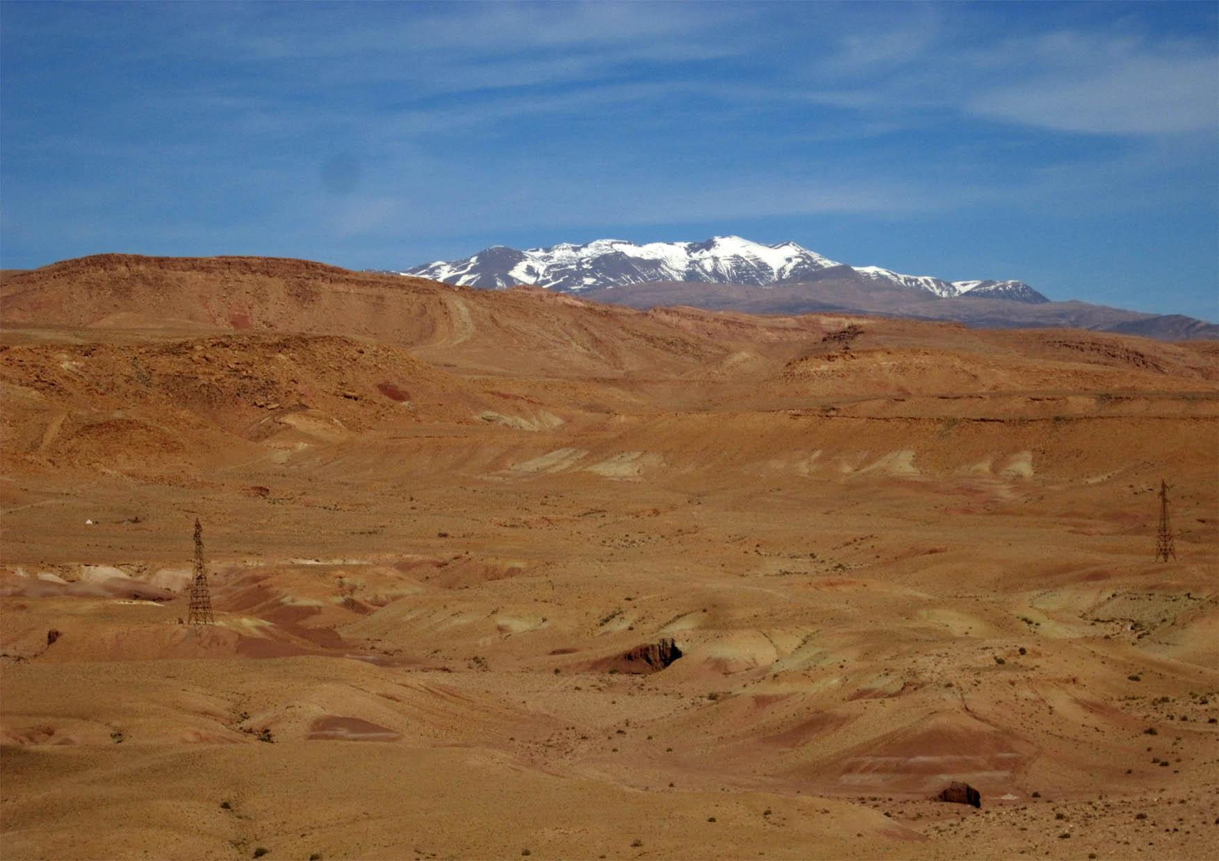 66 maroko ait ben haddou panorama