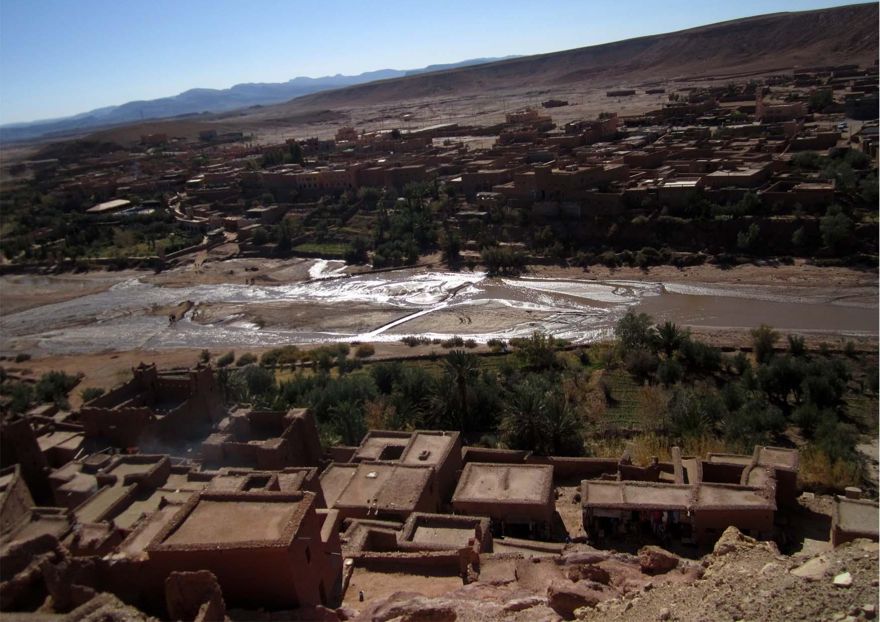 67 maroko ait ben haddou panorama
