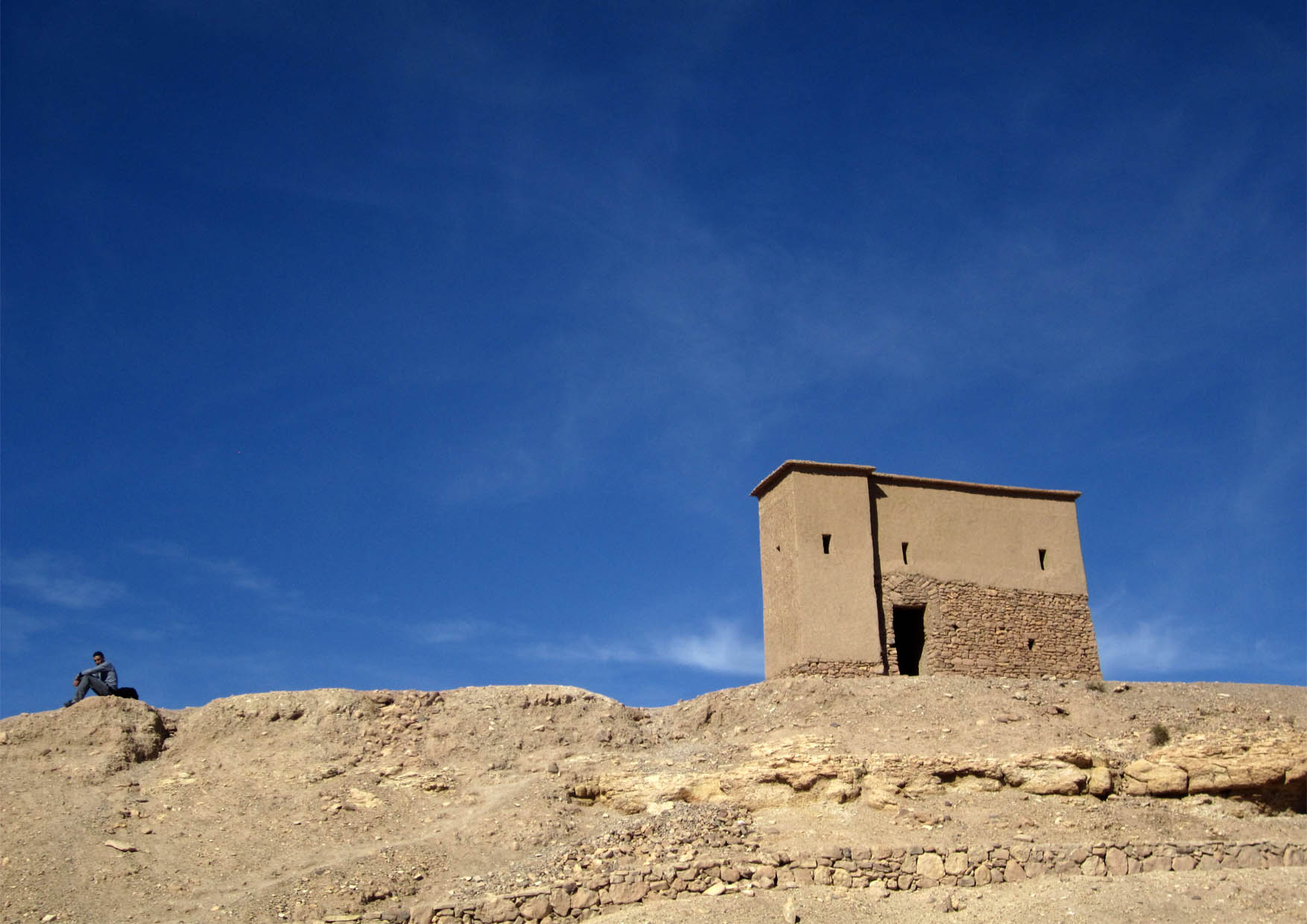 75 maroko ait ben haddou na vrhu