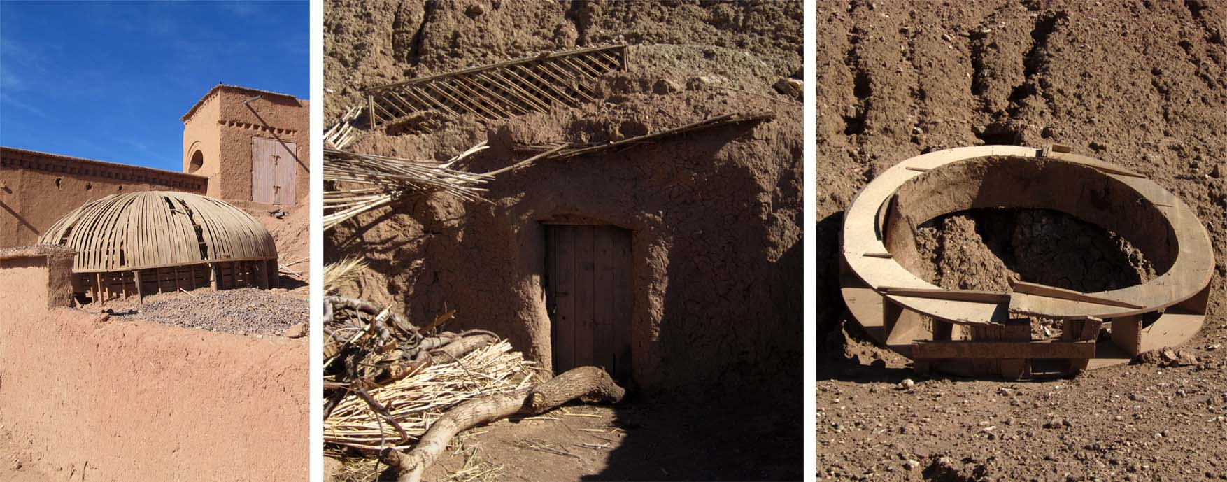 79 maroko ait ben haddou drveni elementi