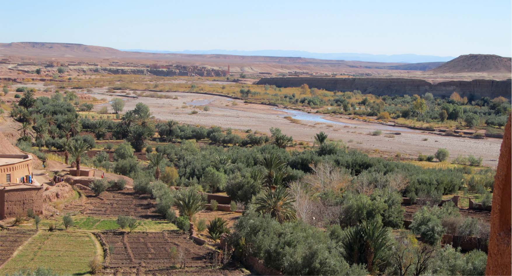 81 maroko ait ben haddou panorama