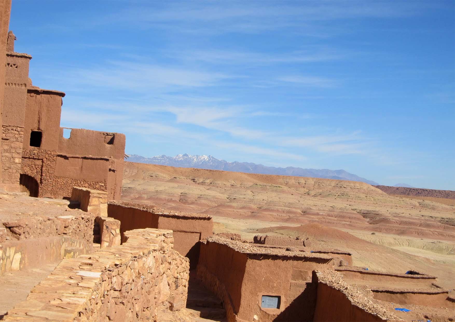 82 maroko ait ben haddou panorama