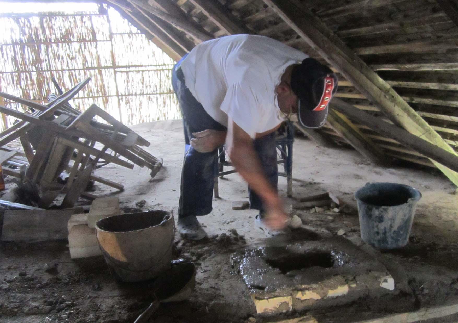 42 Mosorin prosta pec radionica zidanje odzaka  jun 2014