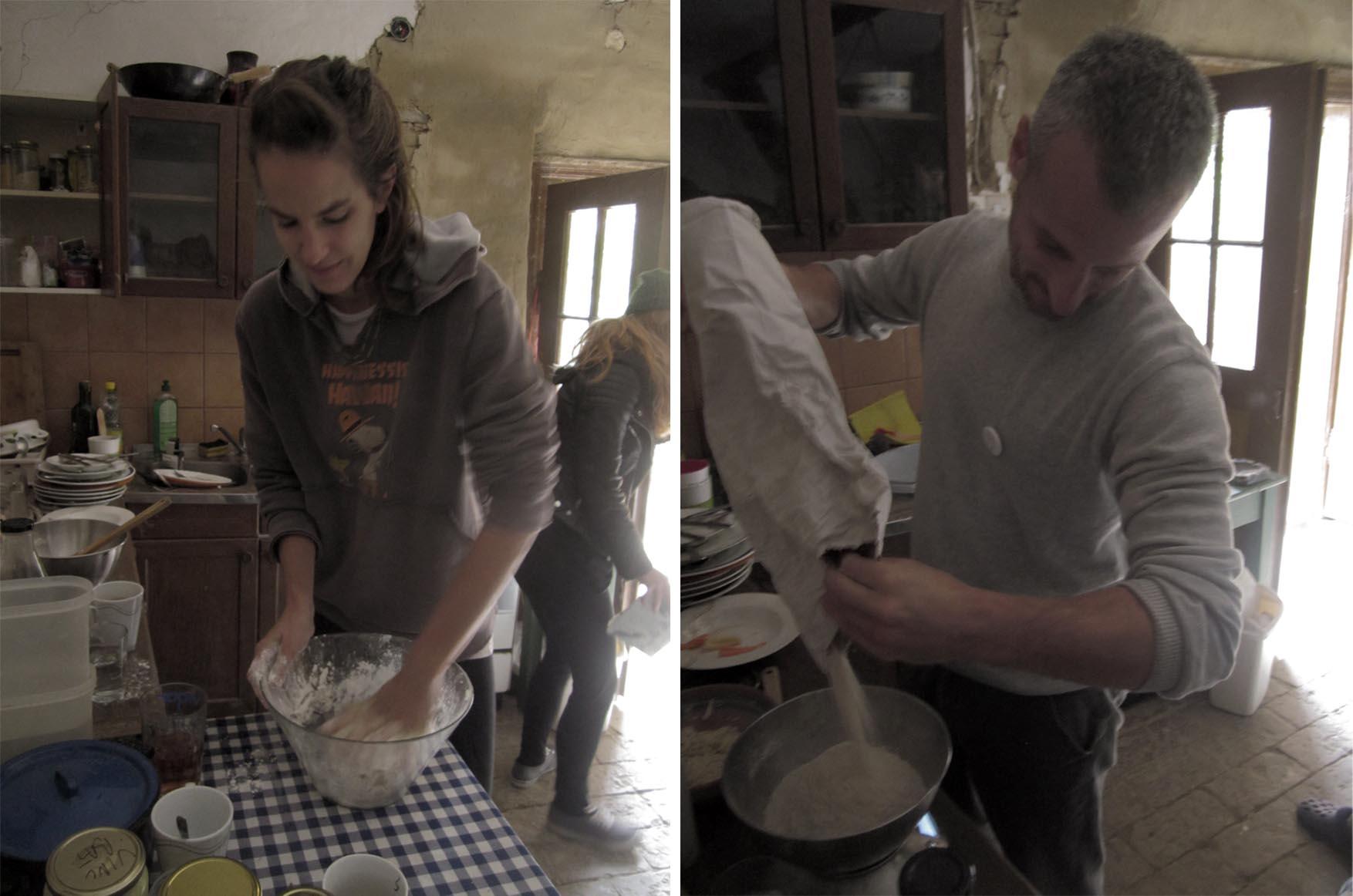54 hrvatska batina pravljenje hleba