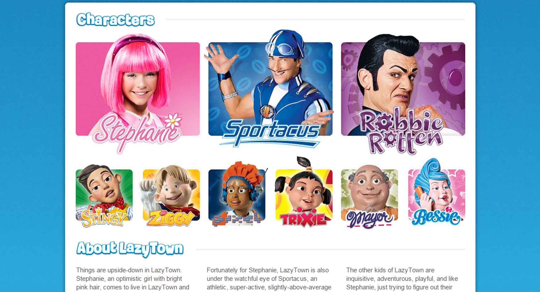 22 lazy town