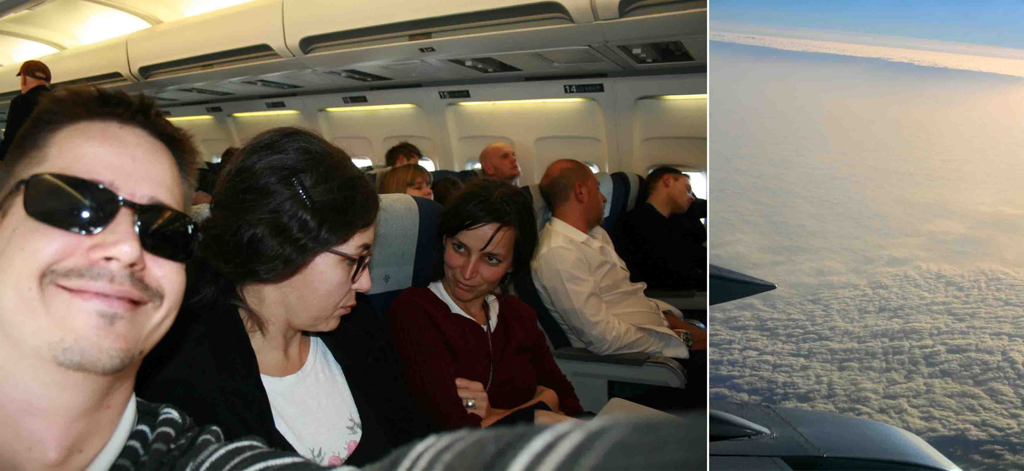 300 Danska Kopenhagen u avionu