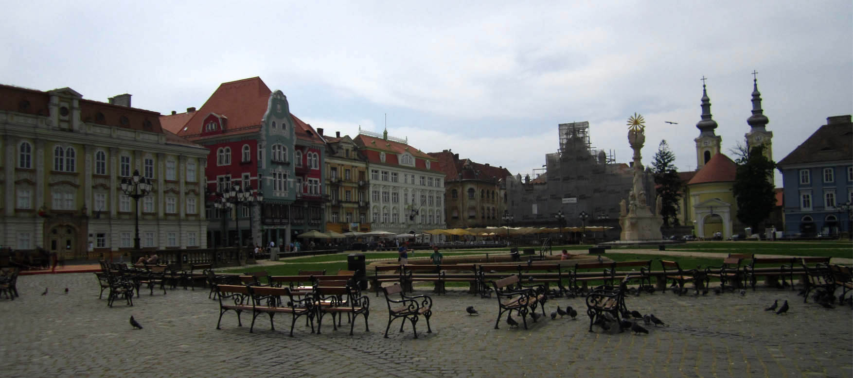 53 Rumunija Temisvar glavni trg