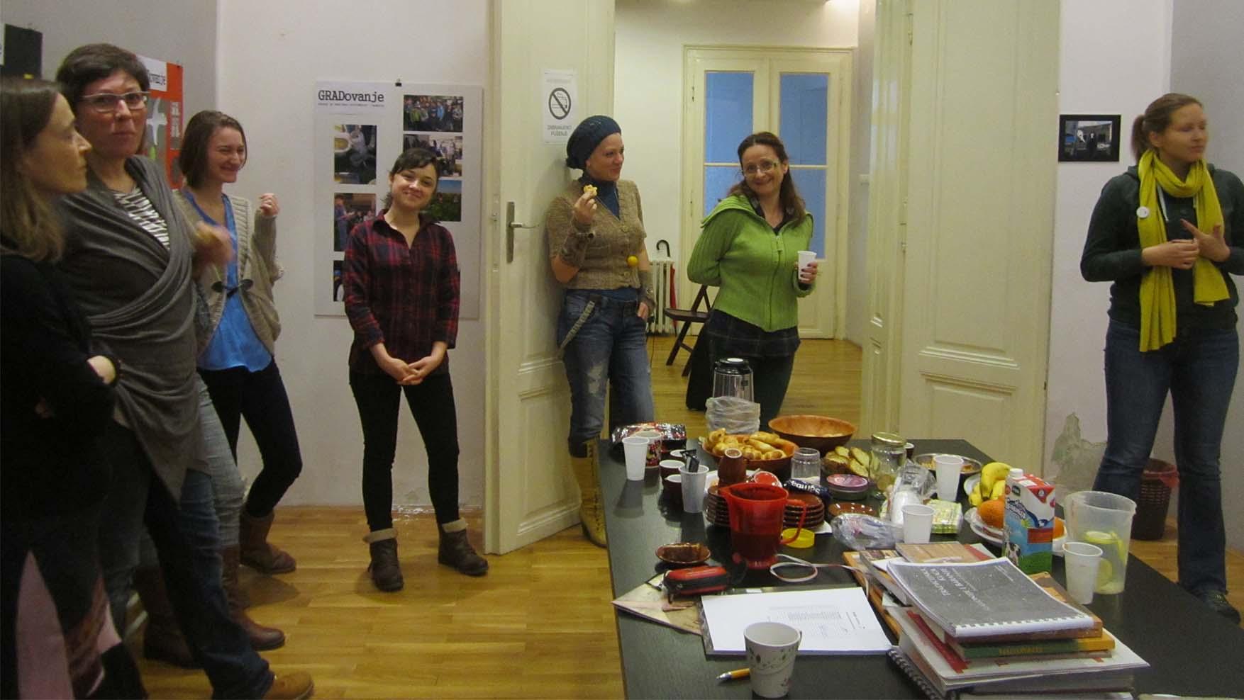 12 DANS kurs zemljane arhitekture gRUPA