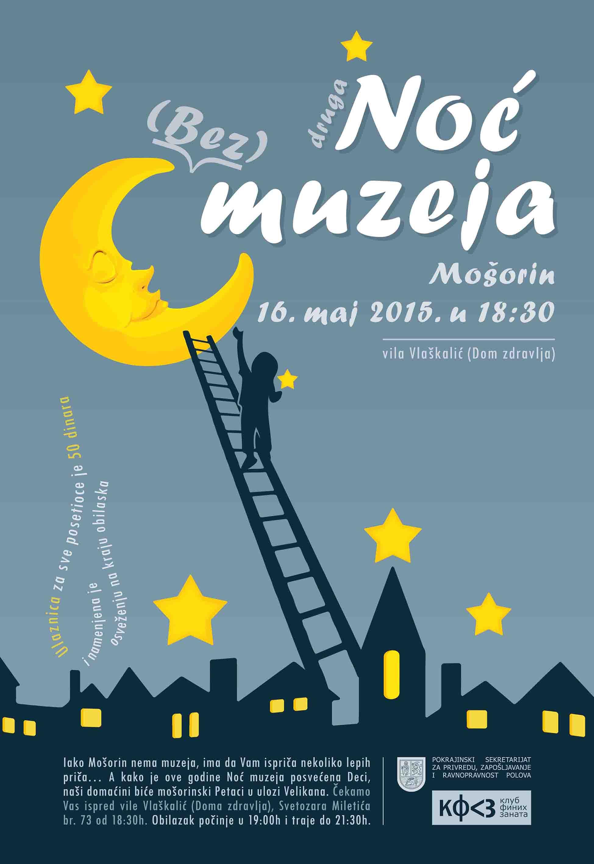 Noc bez muzeja u Mosorinu 2015