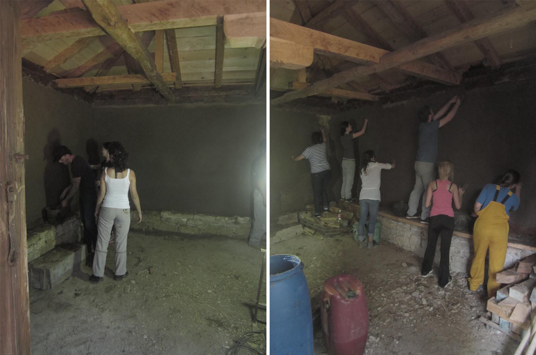 22 Rogljevo kamp ucesnici blatni malteri radionica