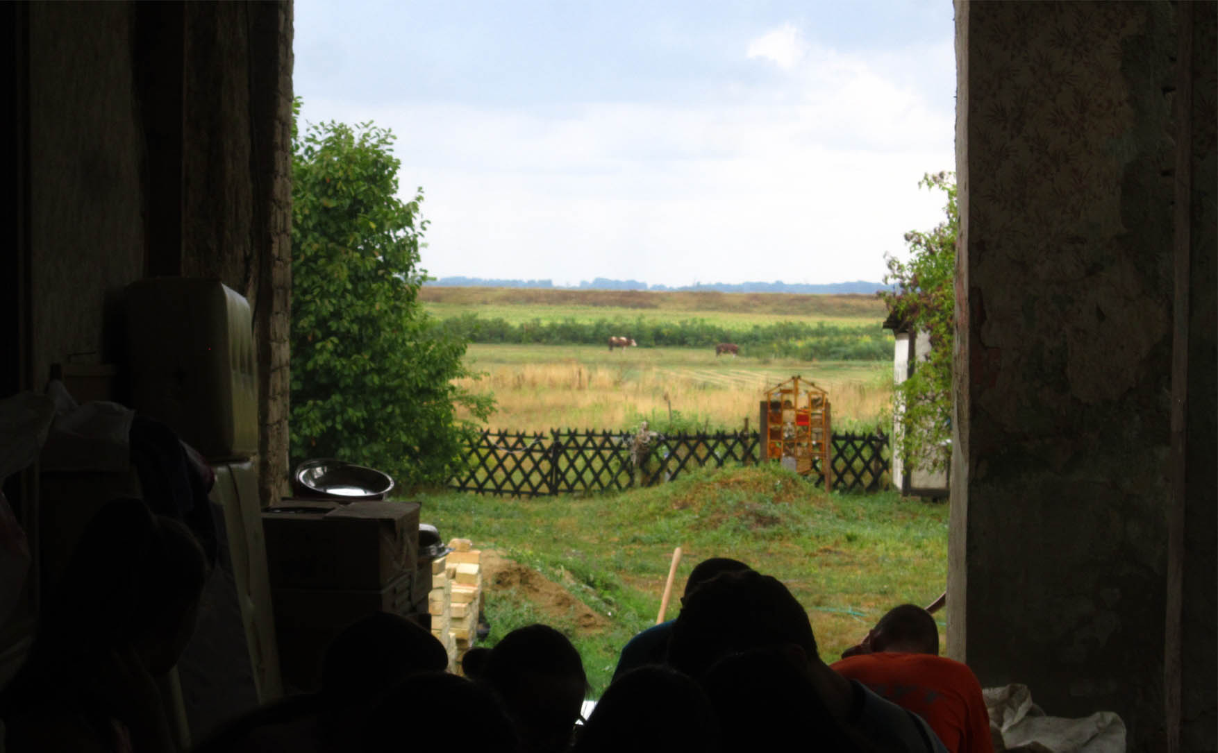 09 kamp zemljane gradnje II pauza u tremu